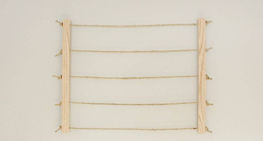 Clothesline Display Diy Frame