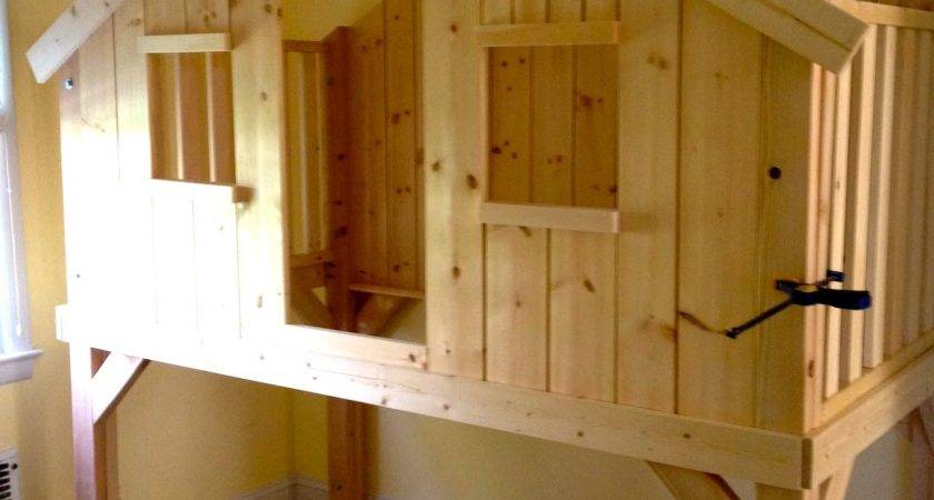 Clubhouse Loft Bed Kids Diy Cozy Home