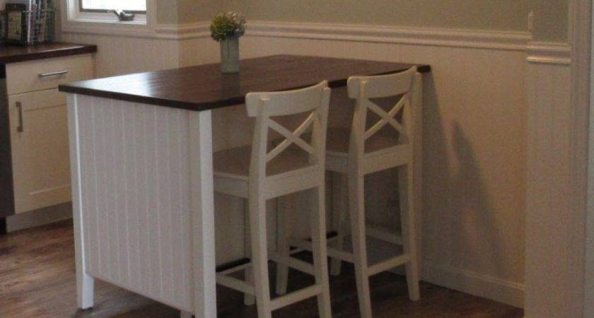 Coastal Makeover Stenstorp Kitchen Island Ikea Hackers