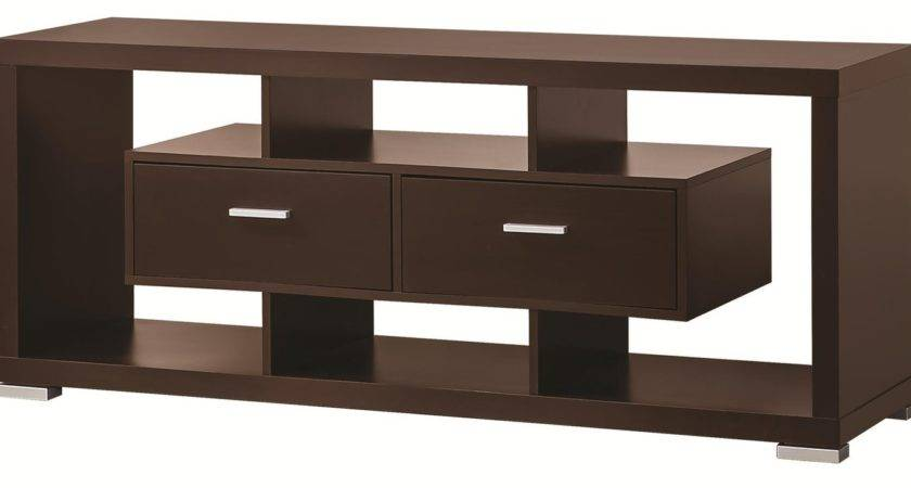 Coaster Brown Wood Stand Steal Sofa