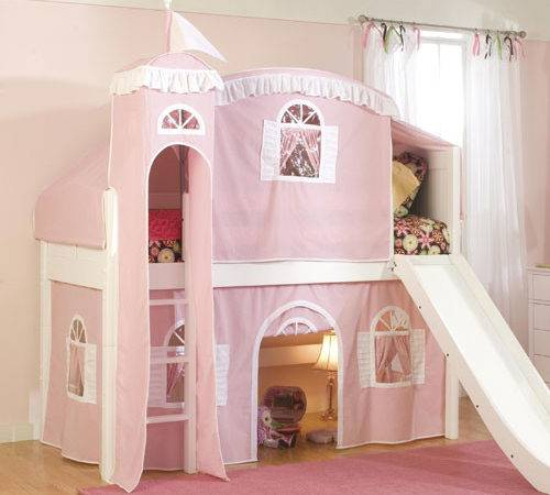 Coaster Furniture Castle Styled Twin Loft Bed