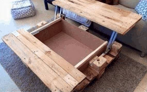 Coffee Table Fascinating Pallet Plans