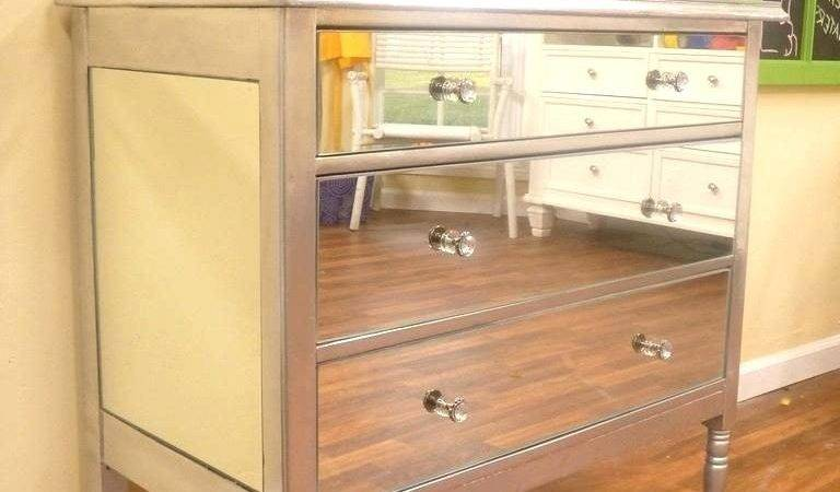 Collection Malm Mirrored Dresser