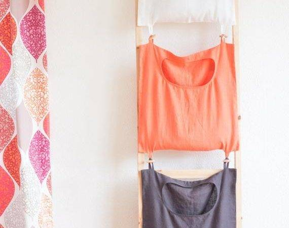 Color Coded Laundry Bag Linen Hanging
