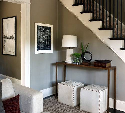 Color Paint Foyer Wall