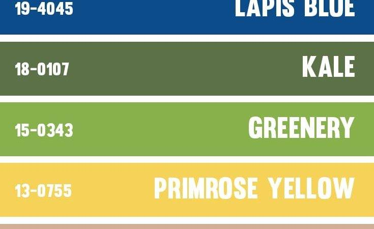 Color Palettes Inspired Pantone Spring