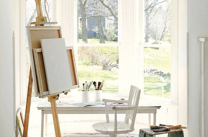 Color Trends Layering Whites Simply White