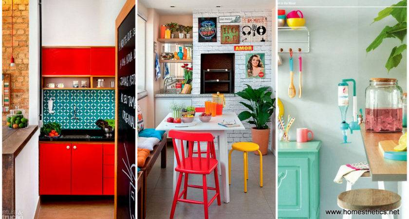 Colorful Kitchen Designs Would Cheer Any Home