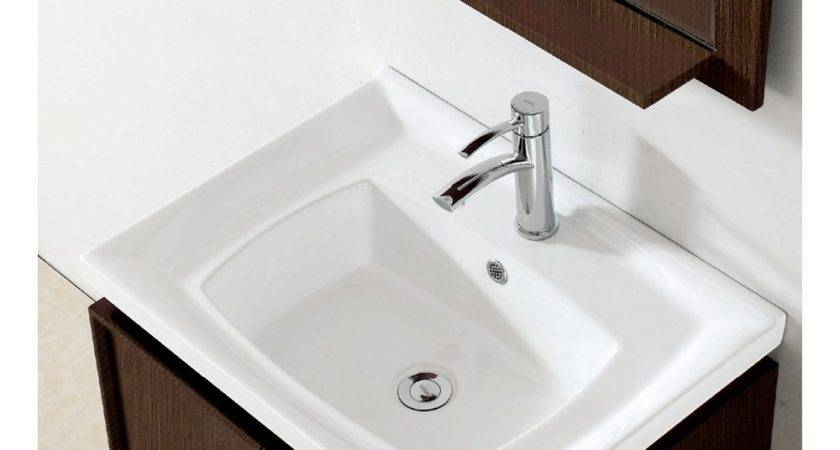 Colton Inch Modern Single Sink Bathroom Vanity