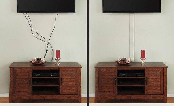Commercial Electric Flat Screen Cord Cover Das