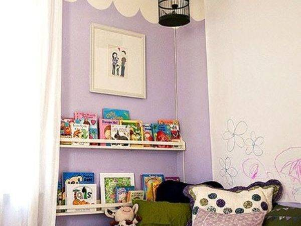 Compact Reading Nook Inspirations Kids Kidsomania