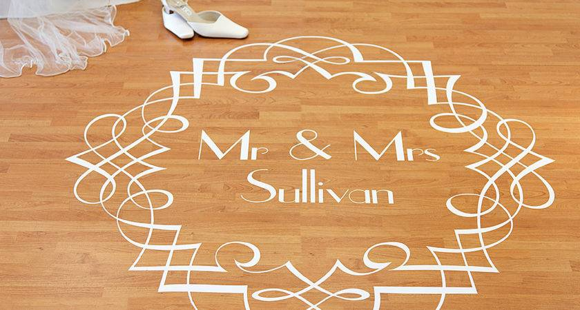 Competition Win Bespoke Off Wall Dance Floor Decal