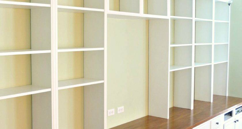 Completion Construction Bookcases