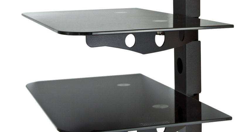Component Tier Wall Mount Shelf Dvd Cable Box Game