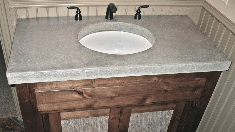 Concrete Bathroom Vanities Sinks Countertops