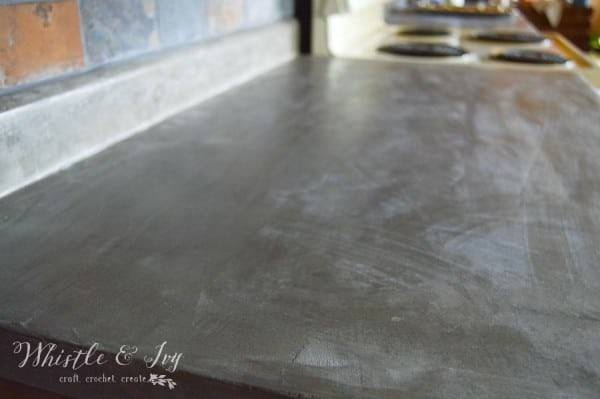 Concrete Countertops Without Ripping Out Your Laminate
