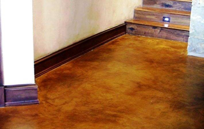 Concrete Floor Paint Interesting Interior Pin