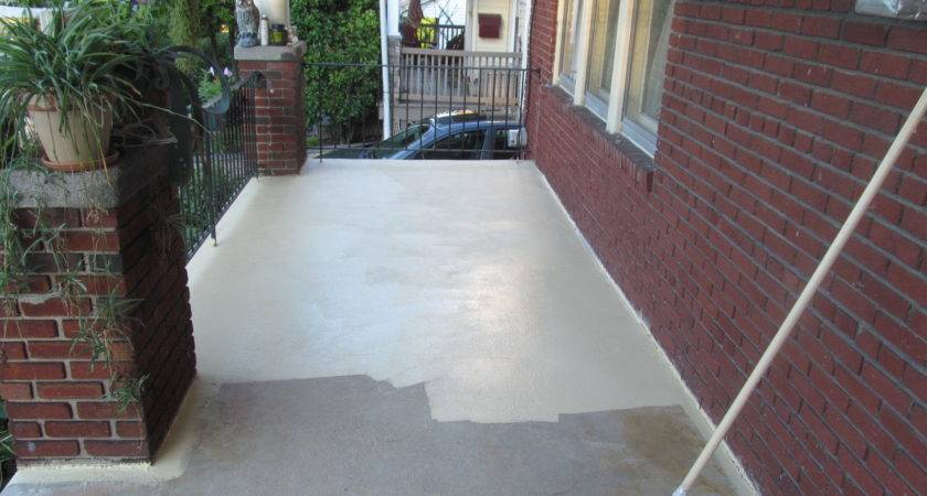 Concrete Porch Paint Redesign Painting Patio Stained