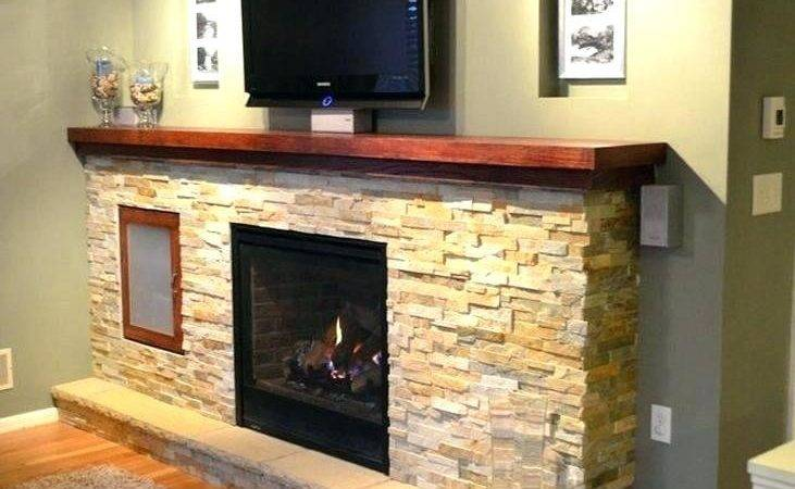 Contemporary Fireplace Surrounds Modern Mantel