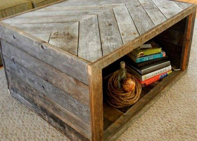 Convert Dumped Pallets Into Creative Coffee Tables Wood