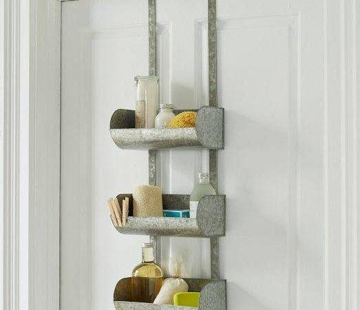 Conveyor Shelf Over Door Grey Organizer