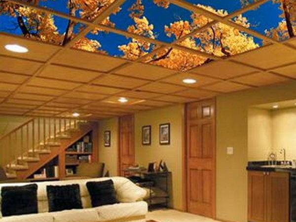 Cool Basement Ceiling Ideas Hative