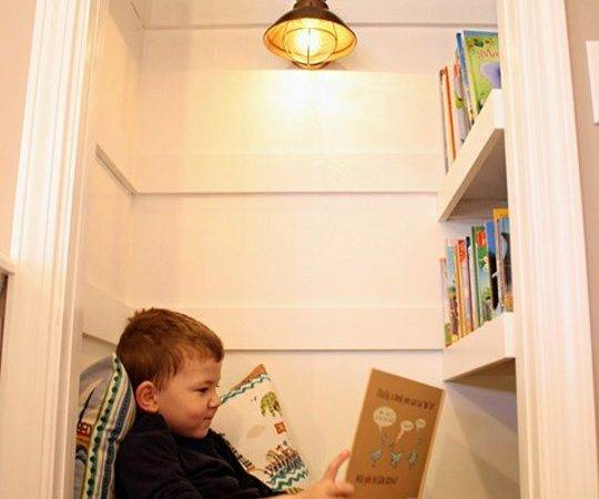 Cool Ideas Organize Perfect Kids Reading Nook