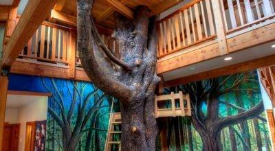 Cool Indoor Treehouses Can Make Your Kids Happy