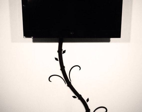 Cord Hider Wall Mounted
