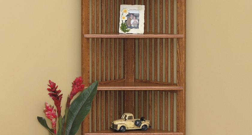 Corner Bookcase Amish Furniture Connections