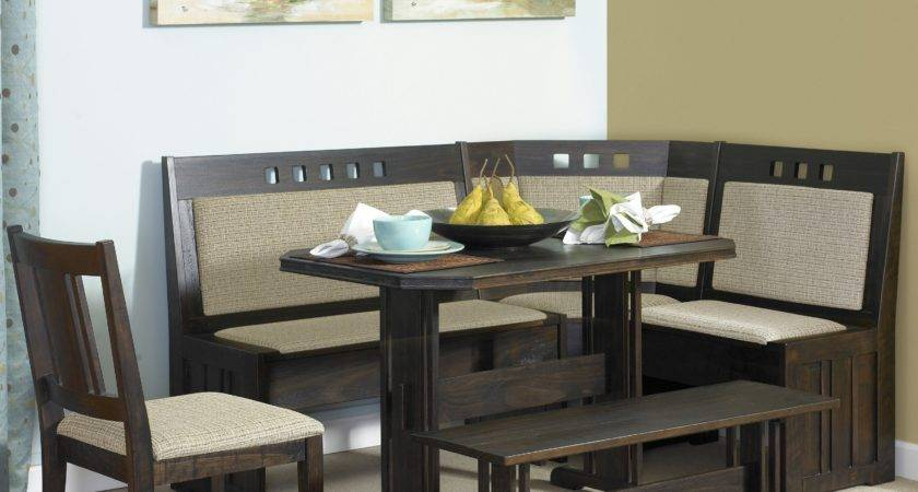 Corner Booth Style Kitchen Tables Sets