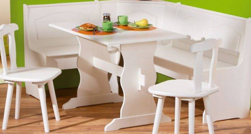 Corner Kitchen Tables Storage Benches