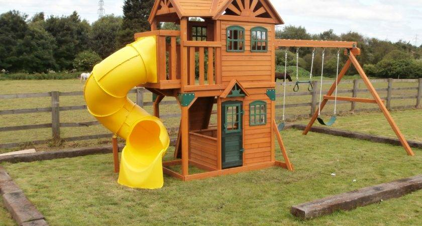 Costco Cedar Summit Climbing Frame