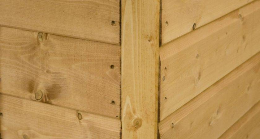 Cotswold Shiplap Offset Apex Shed Greenhouse Stores