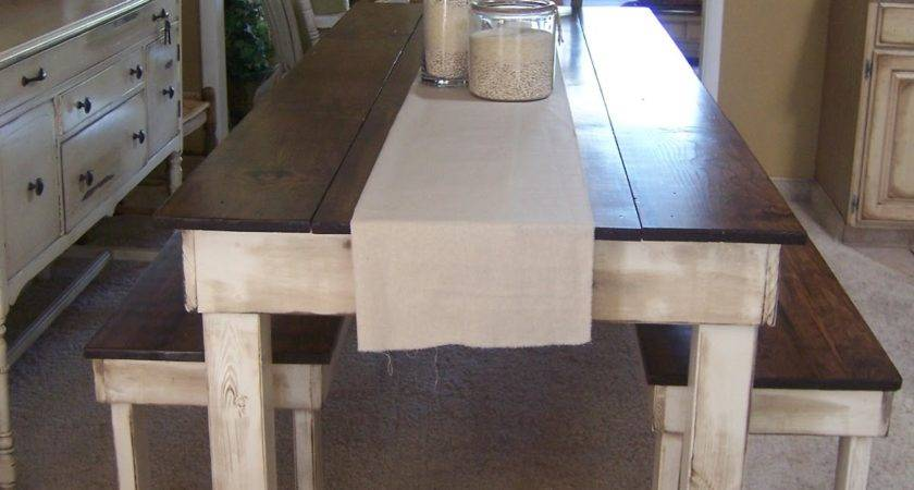 Cottage Charm Creations Provincial Farmhouse Table
