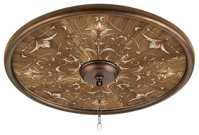 Country Cottage Fleur Brune Wide Bronze Finish