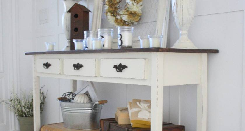 Country Girl Home Added Onto Diy Table