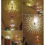 Cozy Rustic Diy Umbrella Chandelier People