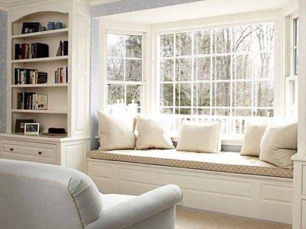 Cozy Window Seats Bay Windows