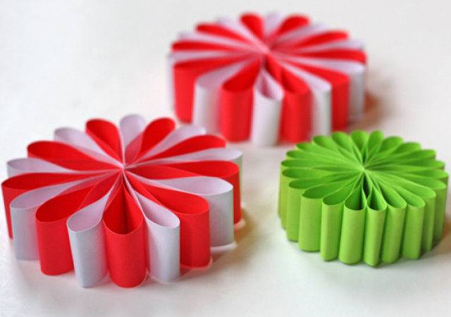 Craft Day Paper Flower Ornaments Huffpost