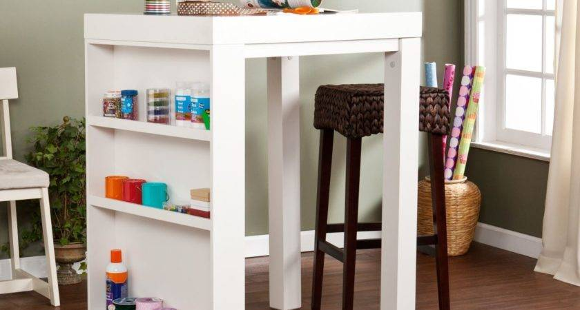 Craft Tables Storage Attempting Organize Your