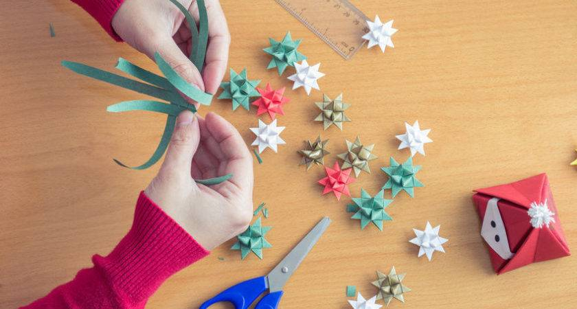 Crafts Making Christmas Decorations Out Paper Ebay