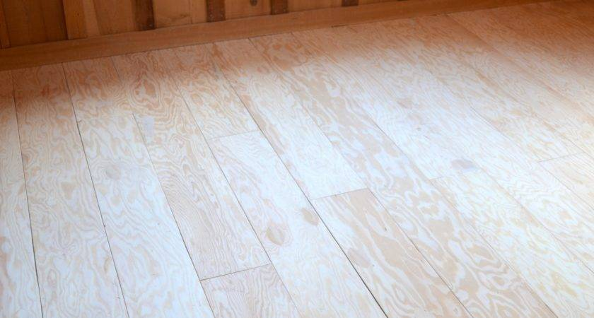 Create Beautiful Plank Flooring Out Plywood