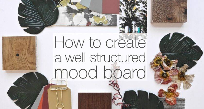 Create Well Structured Mood Board