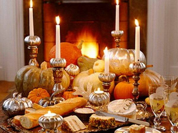 Create Your Own Ambience Easy Thanksgiving Centerpieces