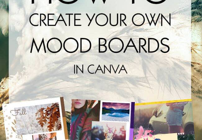 Create Your Own Mood Board Coral Collection Blog