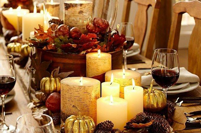 Creating Pottery Barn Inspired Fall Tablescape Lilacs