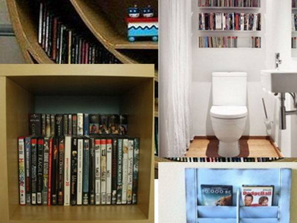 Creative Diy Dvd Storage Ideas Solutions Hative
