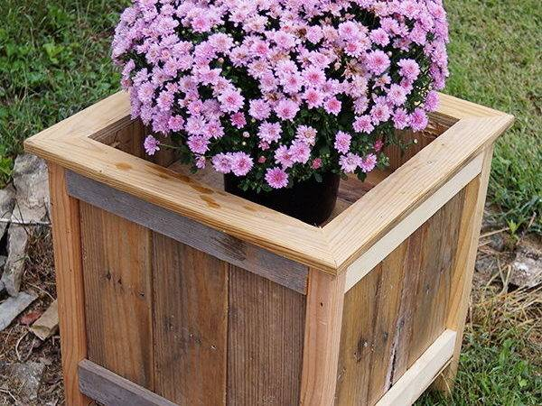 Creative Diy Wood Pallet Planter Boxes Style