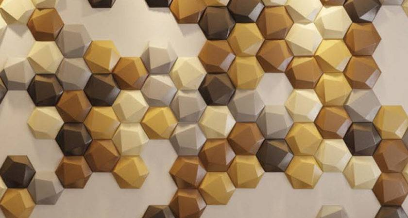 Creative Leather Wall Small Tiles Hexagon Faux
